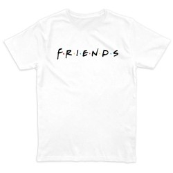T shirt BLANC FRIENDS...
