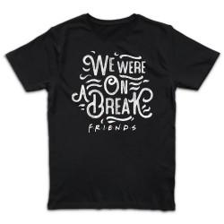 T shirt NOIR  FRIENDS WE...