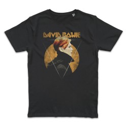 T shirt NOIR  DAVID BOWIE...