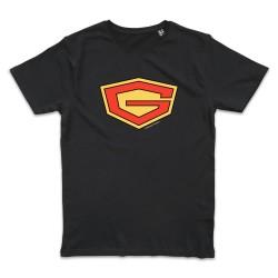 T shirt NOIR GATCHAMAN G LOGO