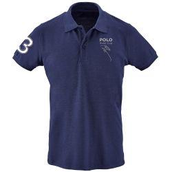 Navy Polo Shirt - PRC Logo