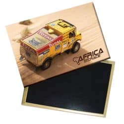 Magnet Camion Jaune Africa Race