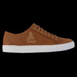 Chaussure Sneakers RIYADH BASSE Cuir CORDE Semelle BLANCHE Logo Dakar OR Edition