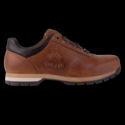 Chaussure de Randonnee Basse TIARET Cuir TERRE Semelle MARRON Logo Dakar Embosse