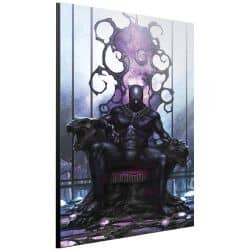 MARVEL ART GALLERY BLACK PANTHER ON THRONE SMALL 24x36cm