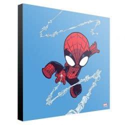 MARVEL ART GALLERY _ SKOTTIE YOUNG _ SPIDER_MAN 30x30cm
