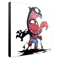 MARVEL ART GALLERY _ SKOTTIE YOUNG _ VENOM 30x30cm