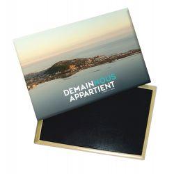 Magnet Logo Demain Nous Appartient Photo de Sete Vue du Large