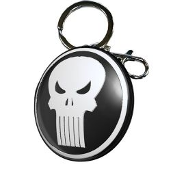 PORTE_CLeS PUNISHER LOGO MeTAL _ MARVEL 7x6x8,5cm