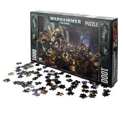 PUZZLE 1000 PCS   ROBOUTE GUILLIMAN VS BLACK LEGION   WARHAMMER 40K 27x40x6cm