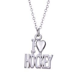 Pendentif I Love Hockey