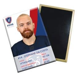 Magnet joueur Stephane DA COSTA