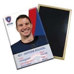 Magnet joueur Antoine ROUSSEL