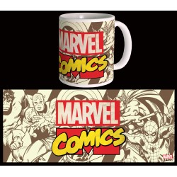 MARVEL MUG _ MAVEL RETRO LOGO