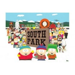 Affiche South Park Opening...