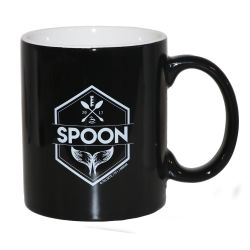 Mug Spoon Noir