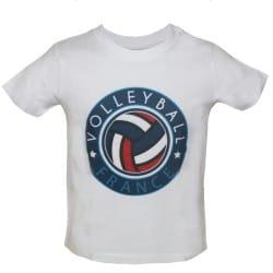 T-shirt Enfant BLANC FFVB...