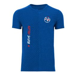 Maillot D'entrainement Tissu Respirant BLEU Bleus Volley