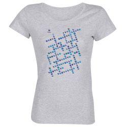 T-shirt Femme GRIS Vocabulaire