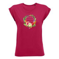 T-shirt Femme FUSCHIA Orchidee