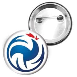 Badge FF Volley Logo Coq