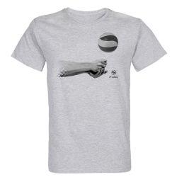 T-shirt GRIS Manchette