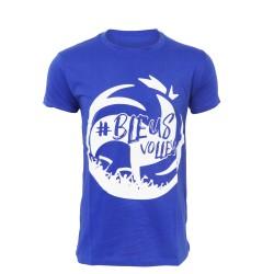 T-shirt BLEU Promedif FFVB
