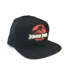 Casquette Snapback NOIRE Jurassic Park Red Logo