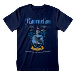 T-shirt Blue Harry Potter - Ravenclaw Blue Crest