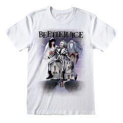 T-shirt BLANC Beetlejuice - Poster White