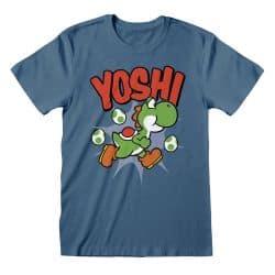 T-shirt MARINE Nintendo Super Mario - Yoshi