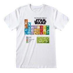 T-shirt BLANC Star Wars -...