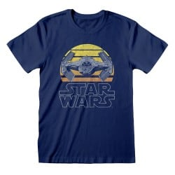 T-shirt Blue Star Wars -...