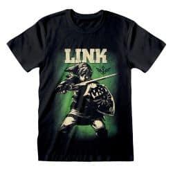 T-shirt NOIR Legend of Zelda - Hero of Hyrule