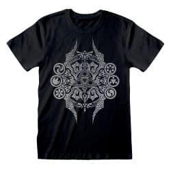 T-shirt NOIR Nintendo Legend Of Zelda - Deco