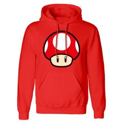 Sweat capuche ROUGE Nintendo Super Mario - Power Up Mushroom