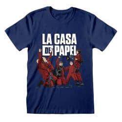 T-shirt MARINE La Casa De Papel - Celebrating