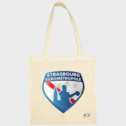Sac Shopping ECRU Club Pro Ligue Logo Strasbourg Eurometropole Handball