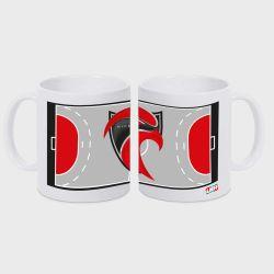 Mug BLANC Terrain Club Pro Ligue Logo Cavigal Nice Handball