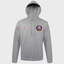 Sweat Shirt Capuche GRIS Logo LNH et Logo Selestat Alsace Handball