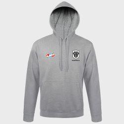 Sweat Shirt Capuche GRIS Logo LNH et Logo Angers SCO Handball