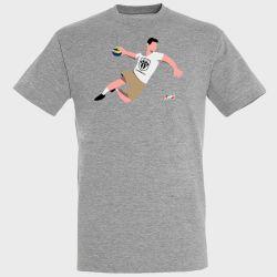 T-shirt GRIS Joueur Logo Angers SCO Handball