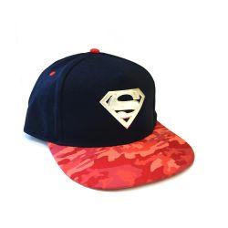 Casquette Snapback ROUGE DC Superman Metallic Logo