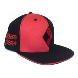 Casquette Snapback ROUGE DC Harley Quinn Diamond