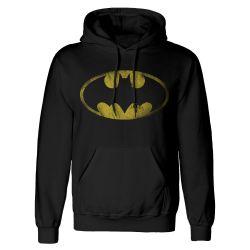 Sweat capuche NOIR DC Batman - Distressed Jumbo Logo