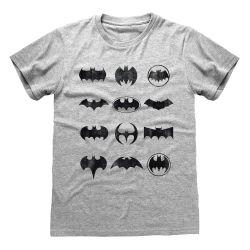 T-shirt GRIS CHINE DC Batman - Icons