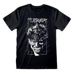 T-shirt NOIR DC Batman - Joker Sketch