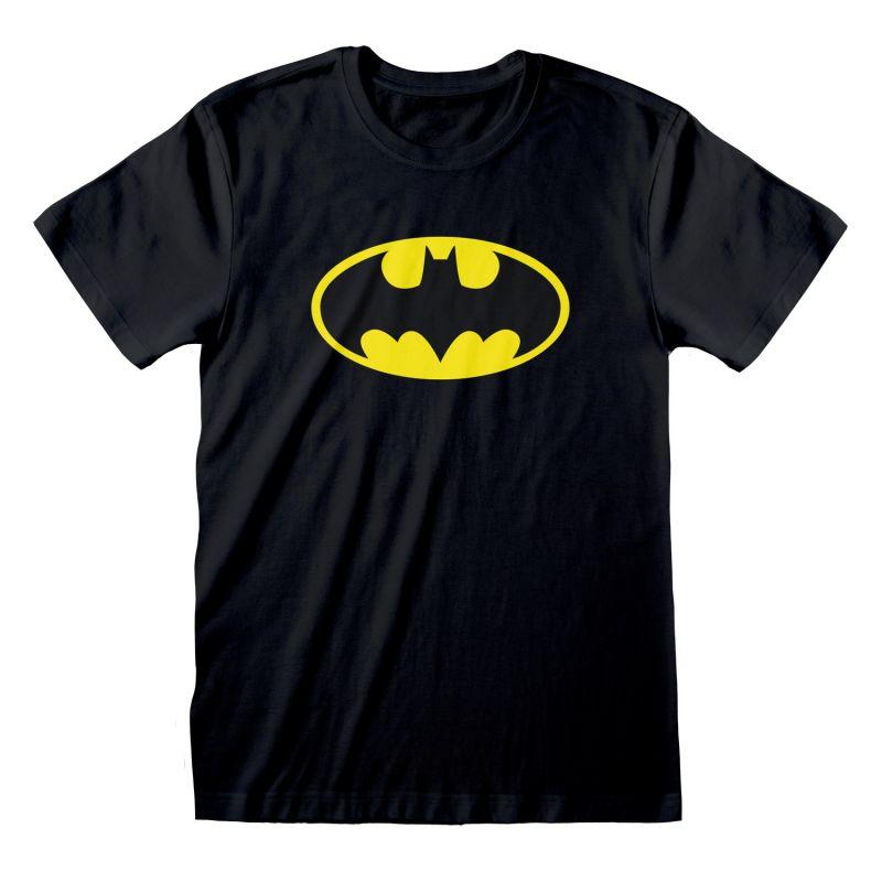T-shirt NOIR DC Batman - Logo