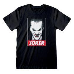 T-shirt NOIR DC Batman - The Joker