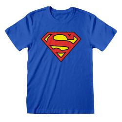 T-shirt Blue DC Superman - Logo